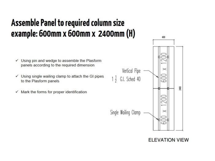 Formwork Column Philipppines (4)